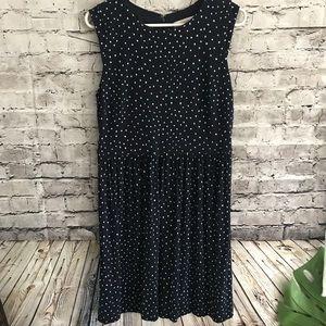 ‼️Ann Taylor LOFT Size 14 Soft Polka Dot Dress‼️